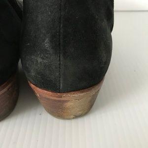 Sam Edelman Shoes - SAM EDELMAN Black Suede Leather PETTY Ankle Boots